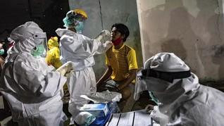 Pedagang Positif Corona, Pasar Karangayu Semarang Ditutup