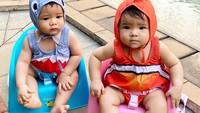 <div>Shelma dan Shaldy kini makin besar. Keduanya sudah berusia 10 bulan. (Foto: Instagram @ratnagalih)</div>