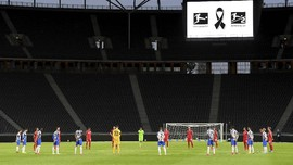 FOTO: Hertha Cukur Union Berlin di Derby Bundesliga