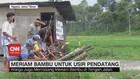 VIDEO: Warga Gunakan Meriam Bambu untuk Usir Pendatang