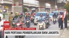 VIDEO: Hari Pertama Pemberlakuan SIKM Jakarta