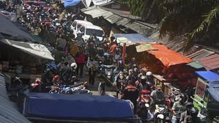 Pedagang Menolak, Pemkot Palangkaraya Gagal Tutup Pasar Besar