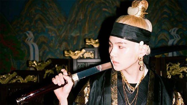 Agust D (Suga BTS) dok. Big Hit Entertainment via Instagram @bighit_ent
