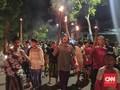 Dilarang Risma, Warga Surabaya Tetap Gelar Takbir Keliling