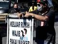 Bandung Terapkan Denda Rp100 Ribu bagi Warga Tanpa Masker