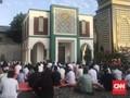 Masjid di Bekasi Terapkan Protokol Kesehatan Saat Salat Id