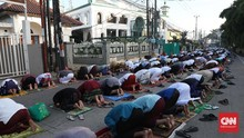 Makassar Larang Salat Id di Masjid, Izinkan di Jalan Raya