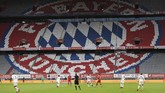 General view during the German Bundesliga soccer match between Bayern Munich and Eintracht Frankfurt in Munich, Germany, Saturday, May 23, 2020. (Andreas Gebert/pool via AP)