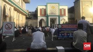 Gelar Salat Id, Masjid di Jakarta Terapkan Jaga Jarak