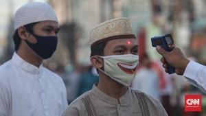 FOTO: Ketika Salat Id Digelar di Tengah Pandemi