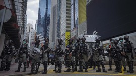 Protes RUU Lagu Kebangsaan, Demonstran Hong Kong Dibubarkan