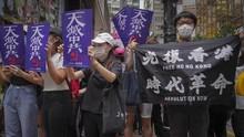 Demo di Taiwan, Massa Tuntut China Bebaskan Tahanan Hong Kong