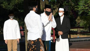 Jokowi: Semoga Pandemi Berlalu Agar Dapat Melepas Rindu