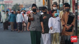 Daftar Daerah Atur Salat Id Saat Pandemi Covid-19