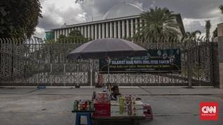 Rencana Buka Juli, Masjid Istiqlal Siapkan Protokol Kesehatan