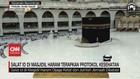 VIDEO: Salat ID di Masjidil Haram Terapkan Protokol Kesehatan