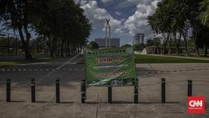 FOTO: Sunyi Sepi Libur Lebaran di Masa Pandemi