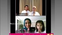 <p>5. Siti KDI  Pedangdut Siti Rahmawati alias Siti KDI dan putrinya Elif Kayla Perk memanfaatkan teknologi untuk bersilaturahmi dengan keluarga di Indonesia. Siti memang diketahui sudah menetap di Turki sejak menikah dengan Cem Junet Peerk. (Foto: Instagram @@siti_perk)</p>