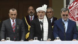 Presiden Afghanistan Lanjut Salat Id saat Serangan Roket