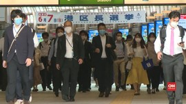 VIDEO: Jepang Cabut Status Darurat Nasional Pandemi Corona