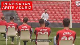 VIDEO: Acara Perpisahan Striker Athletic Bilbao Arits Aduriz