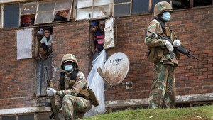 FOTO: Afrika Selatan Hadapi Perpecahan Akibat Virus Corona