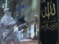 VIDEO: Masjid di Turki Disemprot Disinfektan Sebelum Dibuka