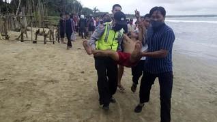 Berlibur di Tengah Corona, 3 Turis Terseret Ombak di Banten