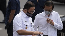 New Normal, Jokowi Sebut Angka Penularan di DKI di Bawah 1