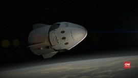 Kapsul SpaceX Mendarat Mulus di Lepas Pantai Pensacola