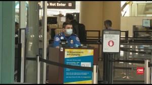 VIDEO: Perubahan Aturan di Bandara AS Akibat Pandemi Covid-19