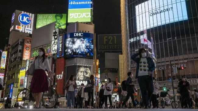 Jepang merevisi ke atas pertumbuhan ekonomi kuartal I 2021 dari minus 5,1 persen menjadi negatif 3,9 persen.