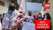 VIDEO: 5.877 Pasien Covid-19 di Indonesia Sembuh