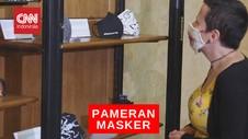 VIDEO: Pameran Masker Saat Pendemi Covid-19
