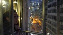 FOTO: Gelang Karantina saat Masuki Hong Kong