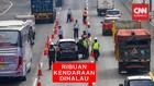 VIDEO : Tanpa SIKM, Ribuan Kendaraan Gagal Masuk Jakarta
