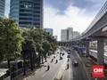 Ruas Jalan di Jakarta Lengang Jelang New Normal