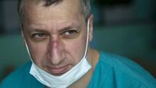 FOTO: Dokter di Rusia Merindu Ketenangan di Tengah Pandemi