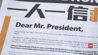 VIDEO: Lawan China, Aktivis Hong Kong Minta Bantuan Trump