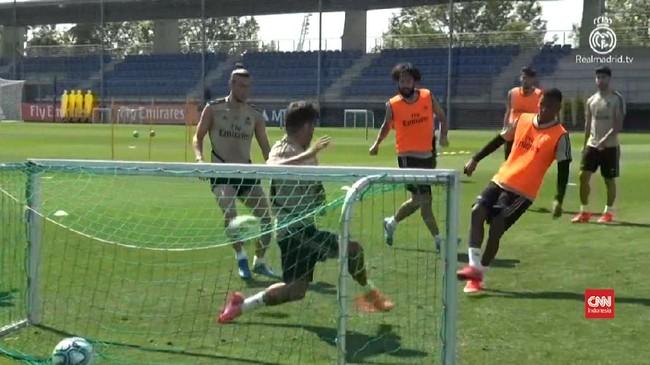 VIDEO: Persiapan La Liga, Real Madrid Kembali Gelar Latihan