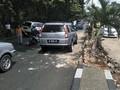 Eggi Sudjana Mengantuk dan Kecelakaan Mobil di Cibinong