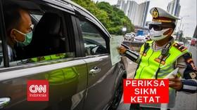 VIDEO: Periksa SIKM Ketat, Ratusan Mobil Ditolak Masuk Jakart