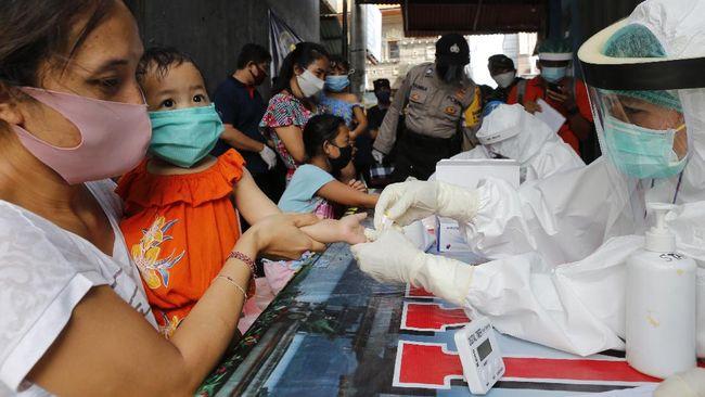 130 Anak Dan Balita Di Jatim Tertular Kerabat Positif Corona