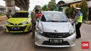 Operasi Ketupat, Polisi Putar Balik 87.636 Terindikasi Mudik