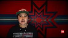 VIDEO: Pemuda Keturunan Suku Indian Ciptakan Lagu Soal Covid