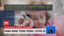 VIDEO: Anak-anak Tidak Kebal Covid-19