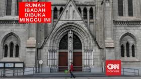 VIDEO: Rumah Ibadah Semua Agama Dibuka Pekan Ini