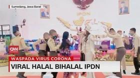 VIDEO: Viral Halal Bihalal IPDN