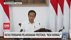 VIDEO: Ratas Persiapan Pelaksanaan Protokol 'New Normal'