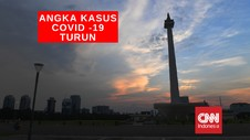 VIDEO : Angka Kasus Covid-19 di Jakarta Turun